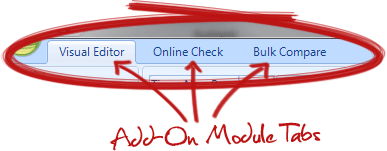 Add-On Module Tabs
