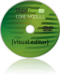 DupeFree Pro Core: Visual Editor