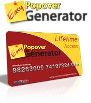 Easy Popover Generator