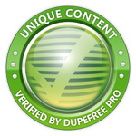 Content Verified Unique by DupeFree Pro!