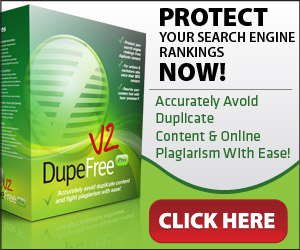 DupeFree Pro: Avoid Duplicate Content & Online Plagiarism!