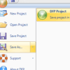 Native DFP Project File Format