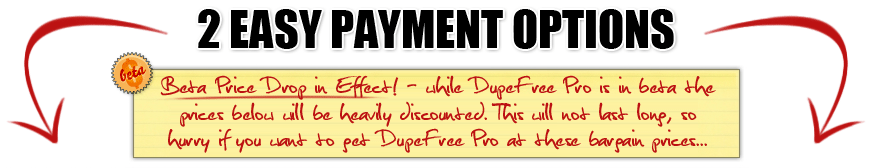 2 Easy Payment Options